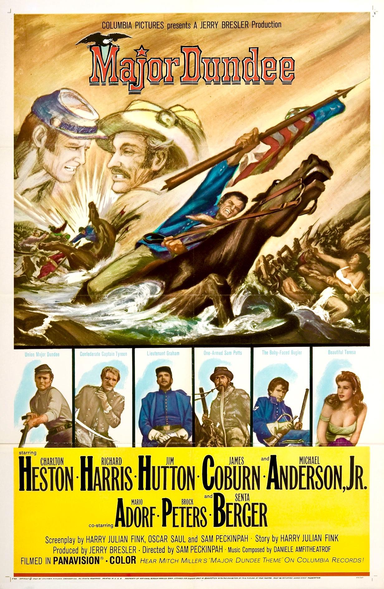 Major Dundee (1965) - IMDb