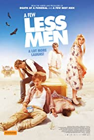 Kris Marshall, Xavier Samuel, Shane Jacobson, James Helm, and Dacre Montgomery in A Few Less Men (2017)