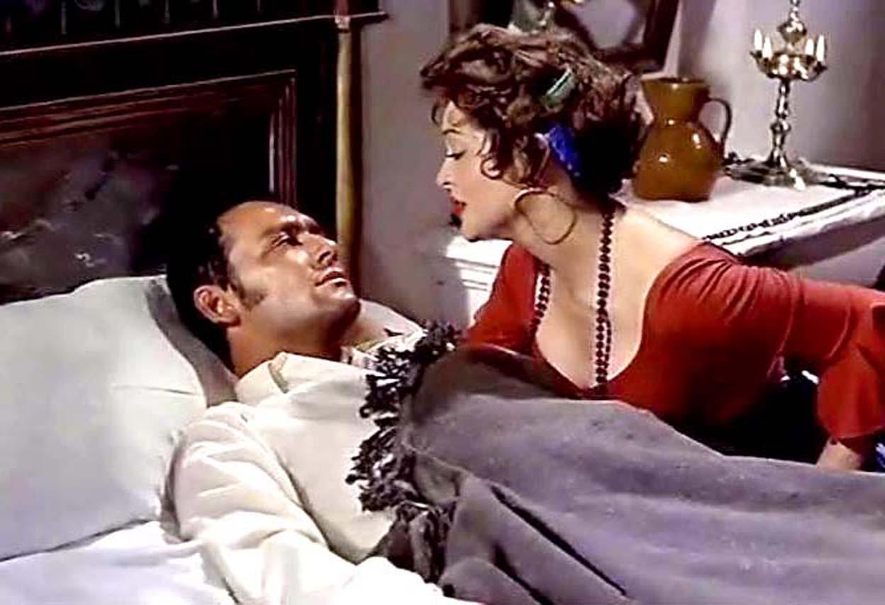 Sara Montiel and Maurice Ronet in Carmen la de Ronda (1959)