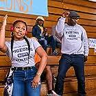 Hassan Johnson and Kristin Dodson in Flatbush Misdemeanors (2021)