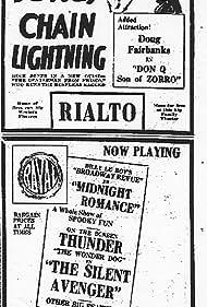 Buck Jones in Chain Lightning (1927)