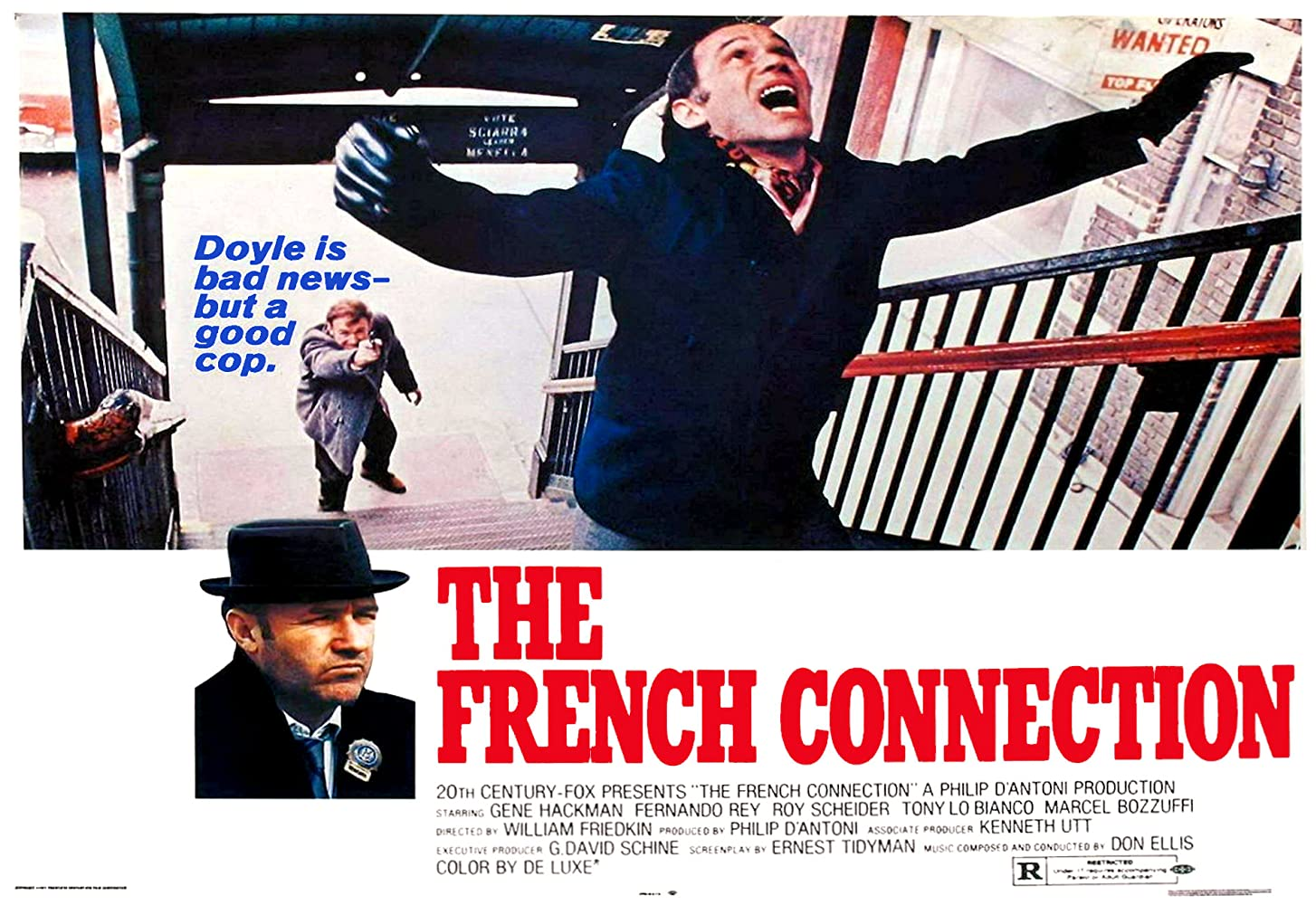 "Resultado de imagen para the french connection 1971"""