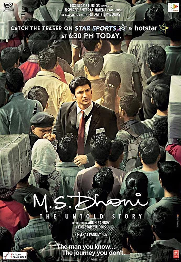 M.S. Dhoni - The Untold Story movie download in hindi 3gp