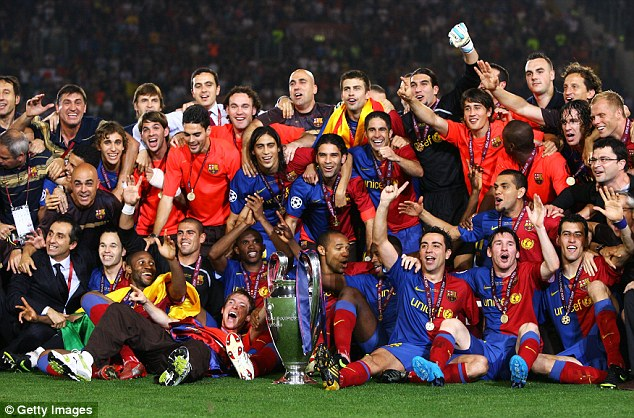 Uefa Champions League Final Barcelona Vs Manchester United Tv Episode 2009 Imdb