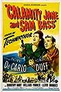 Calamity Jane and Sam Bass (1949) Poster