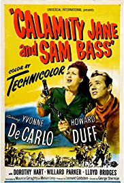 Calamity Jane and Sam Bass Poster