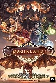 Bibeth Orteza, Hailey Mendes, Joshua Eugenio, Jamir Zabarte, Elijah Alejo, Miggs Cuaderno, and Princess Aguilar in Magikland (2020)