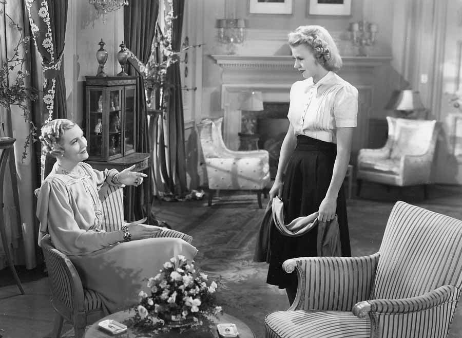Ginger Rogers and Verree Teasdale in Fifth Avenue Girl (1939)