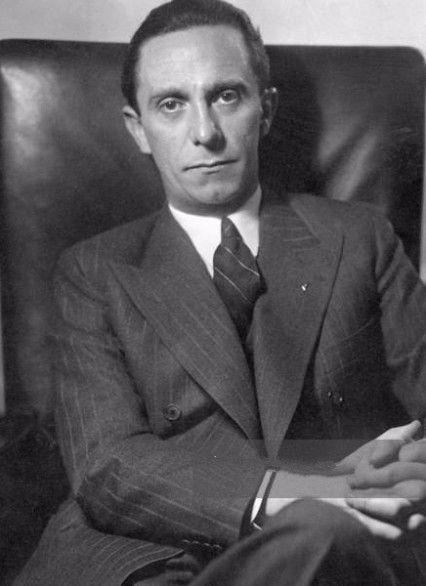תוצאת תמונה עבור Goebbels