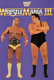 André the Giant and Hulk Hogan in WrestleMania III (1987)