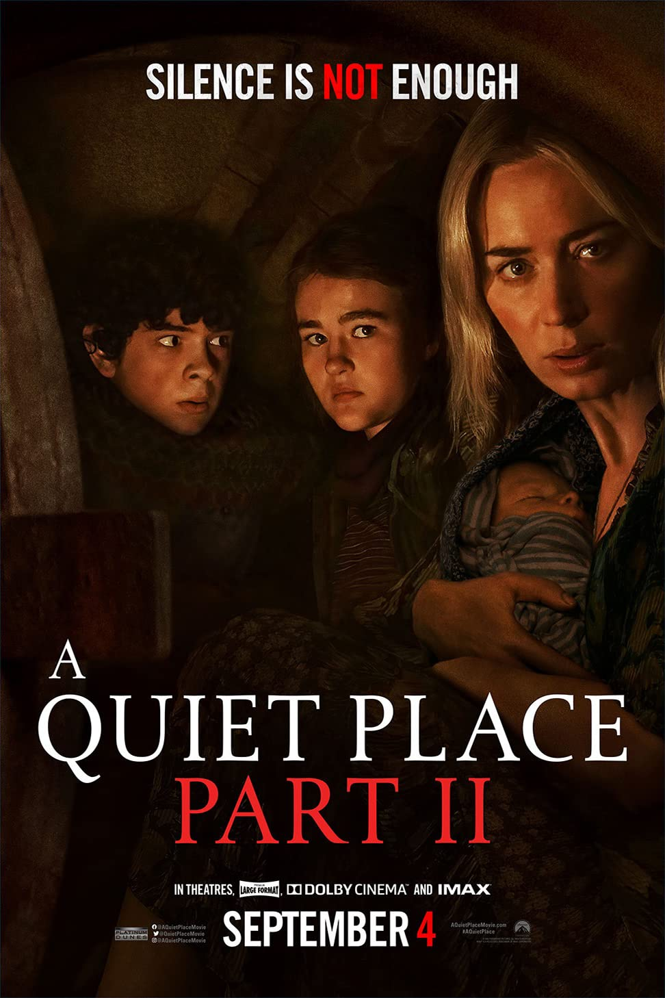 A Quiet Place Part II (2020) Hindi Dubbed