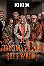 Derek Jacobi and Diana Rigg in A Christmas Carol Goes Wrong (2017)