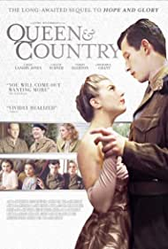 Richard E. Grant, Aimee-Ffion Edwards, and Miriam Rizea in Queen & Country (2014)