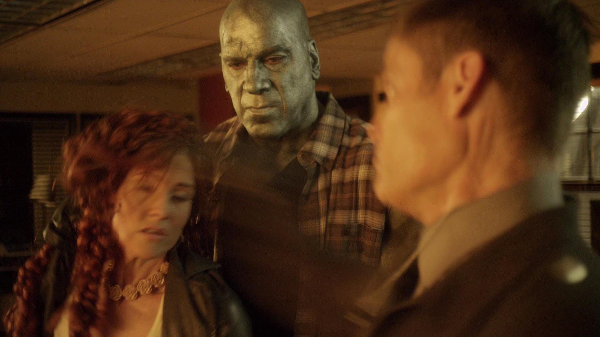 Casper Van Dien, Lou Ferrigno, and Rileah Vanderbilt in Avengers Grimm (2015)