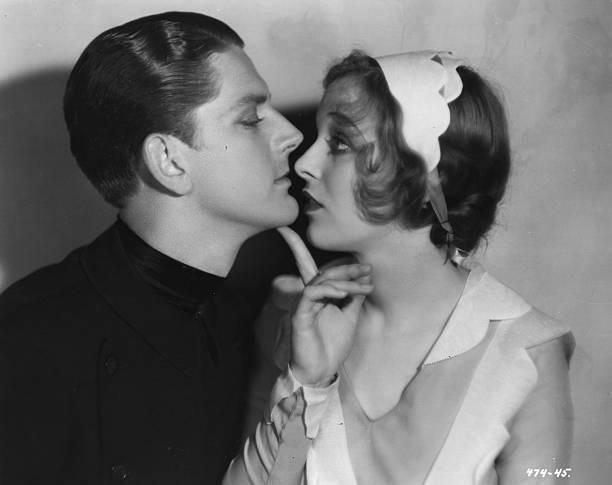 Sally Blane and Hugh Trevor in The Very Idea (1929)
