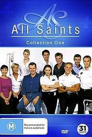 Martin Lynes, Judith McGrath, Georgie Parker, Ling Cooper Tang, Ben Tari, Paul Tassone, Erik Thomson, Brian Vriends, and Jenni Baird in All Saints (1998)