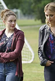 Riley Voelkel and Danielle Rose Russell in The Originals (2013)