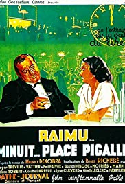 Midnight, Place Pigalle Poster