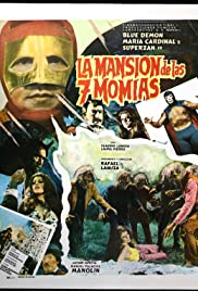 The Mansion of the 7 Mummies Poster