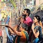 Kulappulli Leela, Vishal, and Sri Divya in Marudhu (2016)