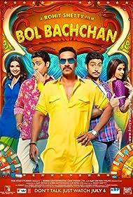 Abhishek Bachchan, Ajay Devgn, Asin Thottumkal, and Prachi Desai in Bol Bachchan (2012)