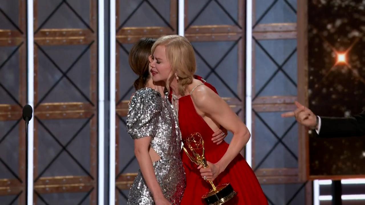 Nicole Kidman and Sarah Paulson in The 69th Primetime Emmy Awards (2017)