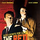 Hanna Axmann-Rezzori and Robert Rockwell in The Red Menace (1949)