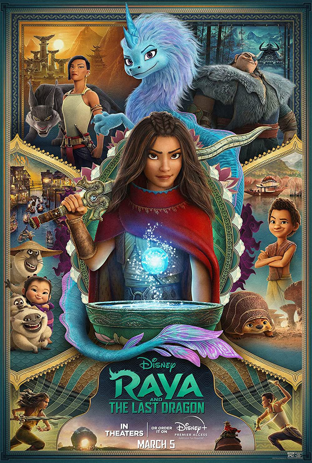 Raya and the Last Dragon 2021 English 720p HDRip 800MB | 345MB Download