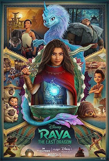 Raya and the Last Dragon (2021) Hindi Dubbed