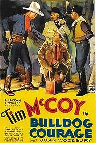Tim McCoy, Edmund Cobb, John Cowell, and John Elliott in Bulldog Courage (1935)