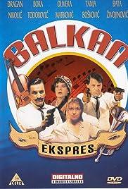 Balkan ekspres Poster