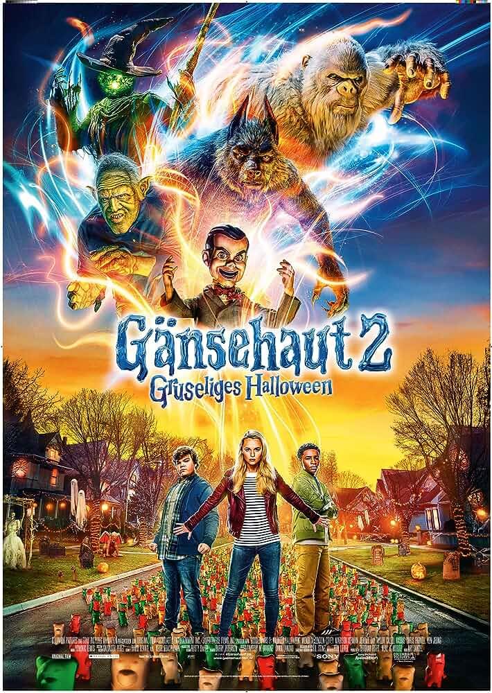 Goosebumps 2 Haunted Halloween (2018) [720p – BDRip – Original Audios [Tamil + Telugu + Hindi + Eng] 900MB – ESubs]