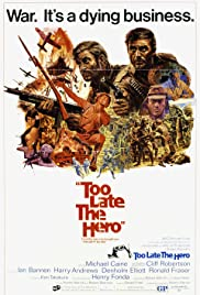 Too Late the Hero Poster