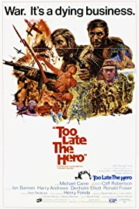 Watch english movies dvd online Too Late the Hero [hddvd]