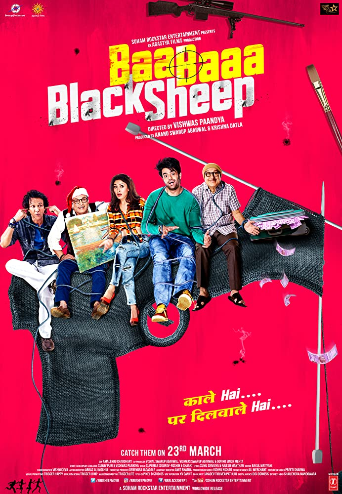 Baa Baaa Black Sheep (2018) Hindi 720p HDRip 800MB
