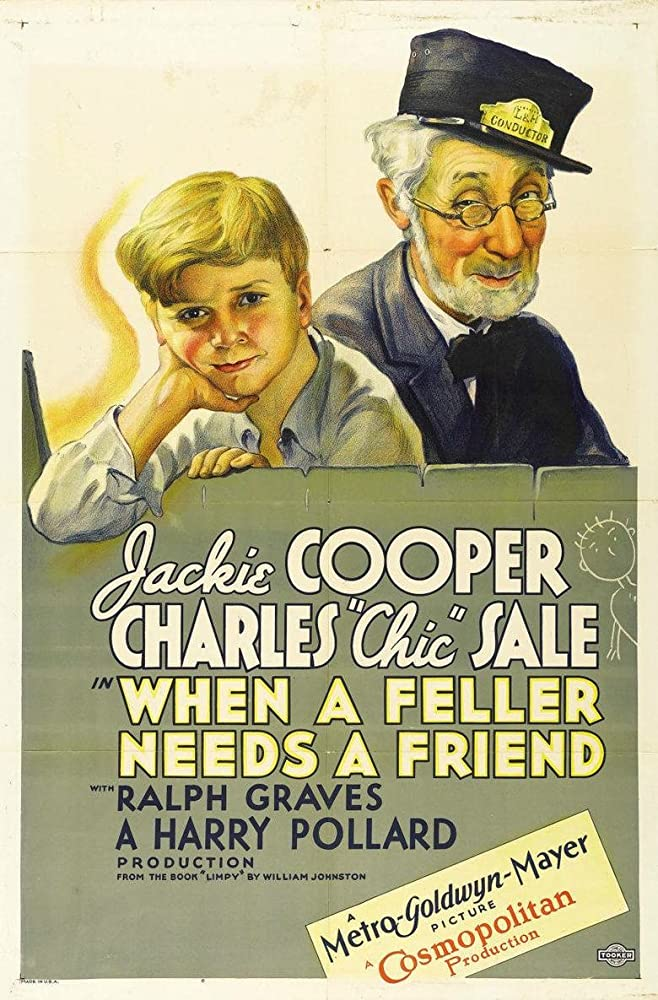 Jackie Cooper and Charles 'Chic' Sale in When a Feller Needs a Friend (1932)