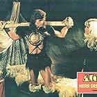Miles O'Keeffe and Sabrina Siani in Ator l'invincibile (1982)