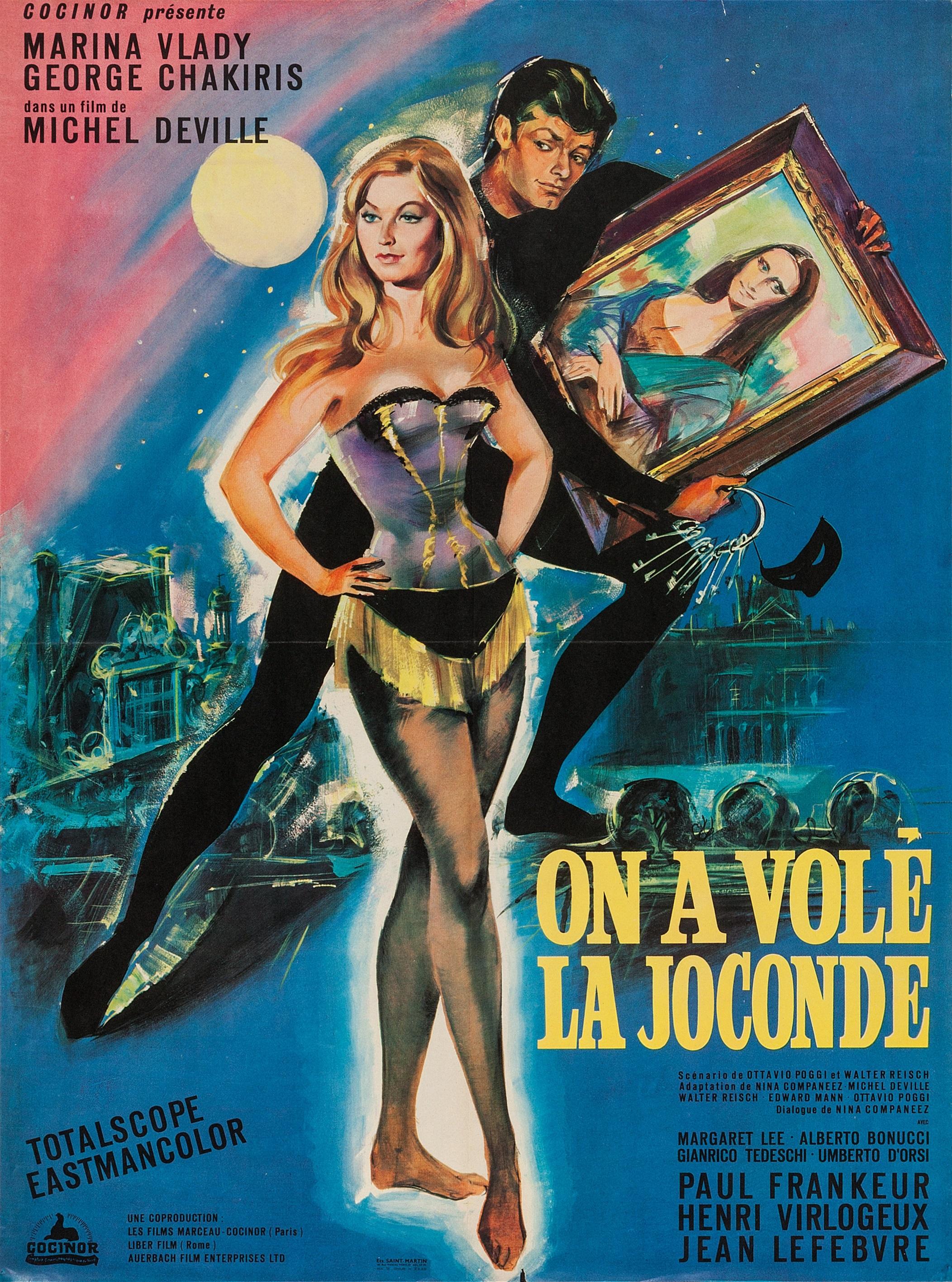 Marina Vlady in Il ladro della Gioconda (1966)