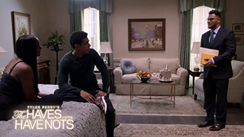 TYLER PERRY'S THE HAVES AND THE HAVE NOTS: Charles Chooses Between Candace And The Presidency