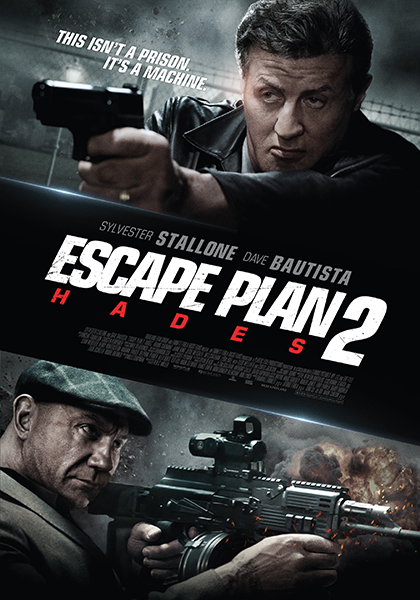 Poster film Escape Plan 2: Hades.