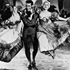 Ricardo Montalban, Cyd Charisse, and Ann Miller in The Kissing Bandit (1948)