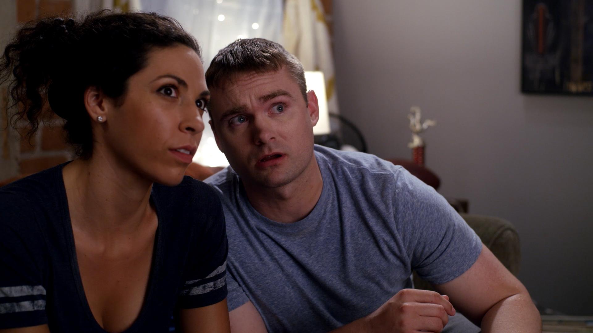 Shana Eva and Robert Sherry in Planet George (2020)