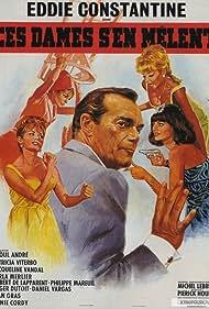 Eddie Constantine and Annie Cordy in Ces dames s'en mêlent (1965)