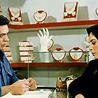 Changiz Vossoughi and Afsaneh Bayegan in Shans-e zendegi (1991)