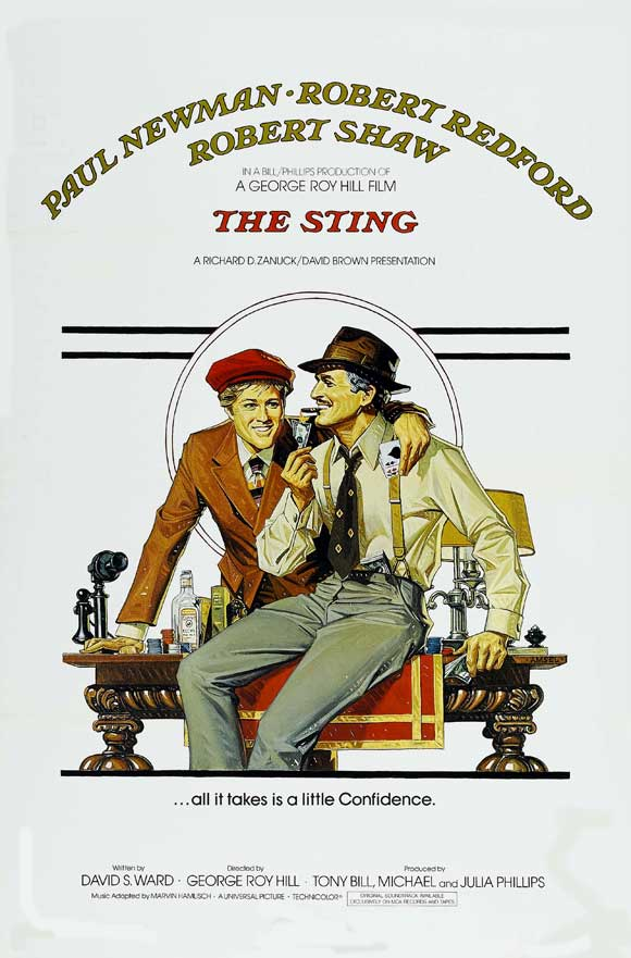 The Sting (1973) BluRay 720p & 1080p