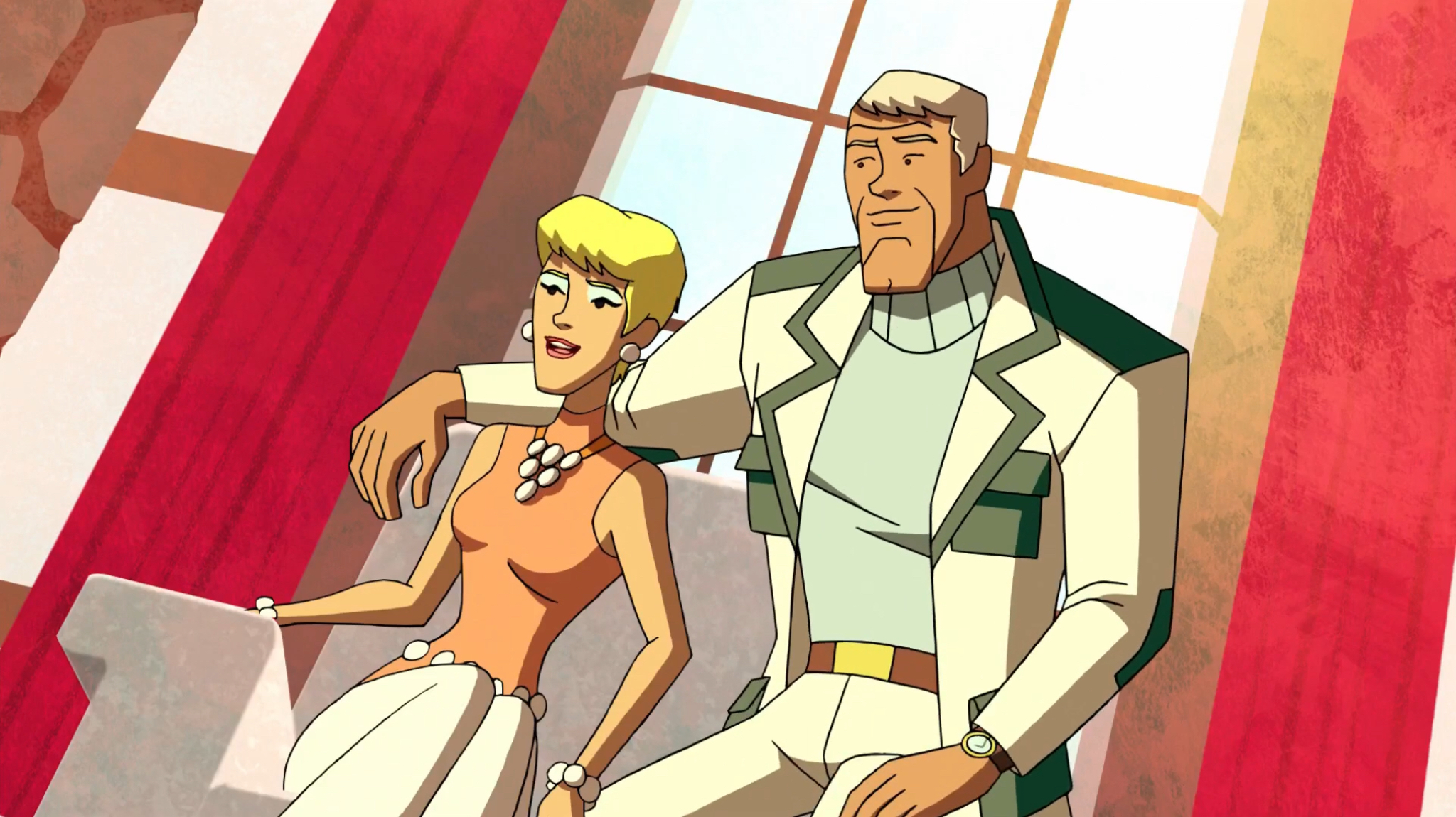 Tia Carrere and Tim Matheson in Scooby-Doo! Mystery Incorporated (2010)