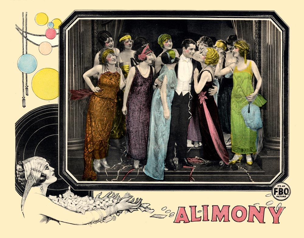 Warner Baxter, Grace Darmond, Ruby Miller, and Jackie Saunders in Alimony (1924)