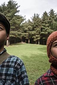 Duane Evans Jr. and Te Ahitaewa Hakaraia-Hosking in Possum (2016)