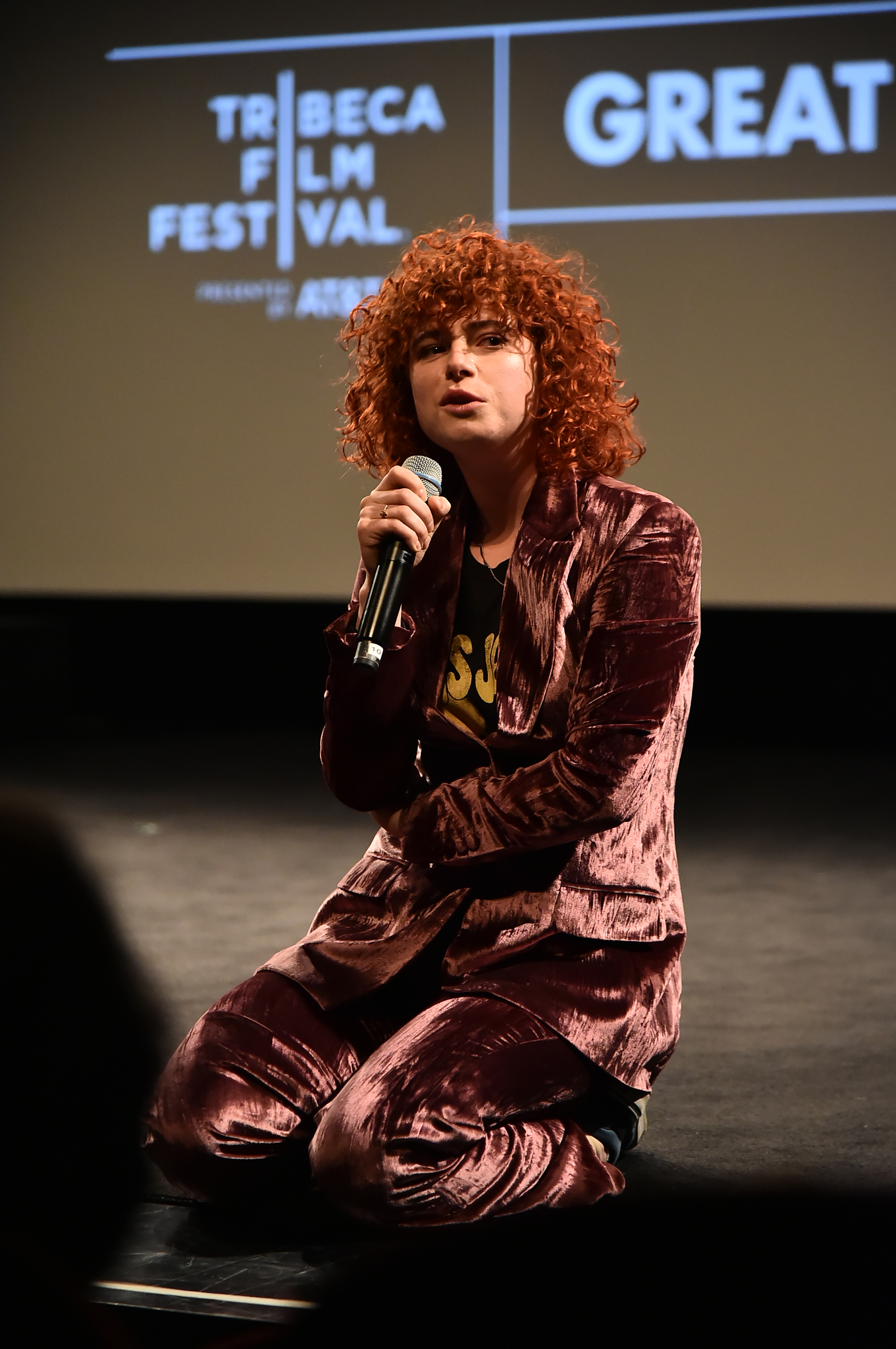 Jessie Buckley at an event for Wild (2014)