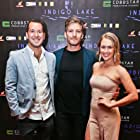 Composer (me, left) with Andrew Cutcliffe (middle) and Miranda O'Hare (right) at the red carpet opening for our Australian feature film Indigo Lake (2017).
